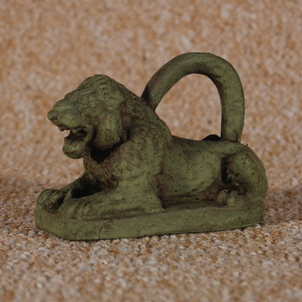 Pesa en forma de león